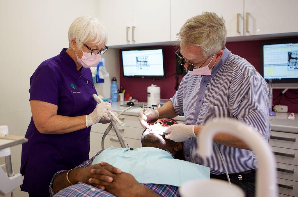 Dr Anthony Poli at Mills Rd Dental Centre