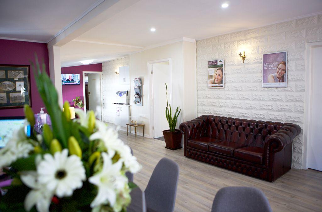 Reception area – Mills Road Dental Centre